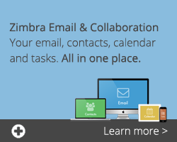 Branding for Zimbra Hosting now Live for all Resellers - In